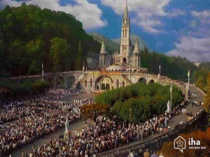 Millions of pilgrims visit Lourdes each year in search of inspiration and healing.