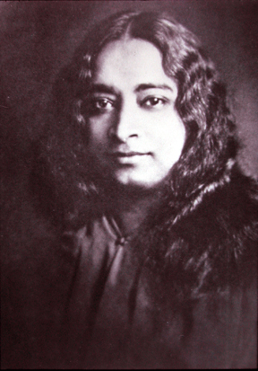 Paramhansa Yogananda (photo taken sometime in the 1930s)