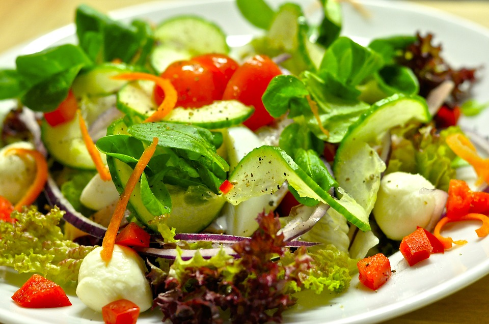 SALAD: permanent cure for the sugar blues (Photo source Wikimedia Commons)